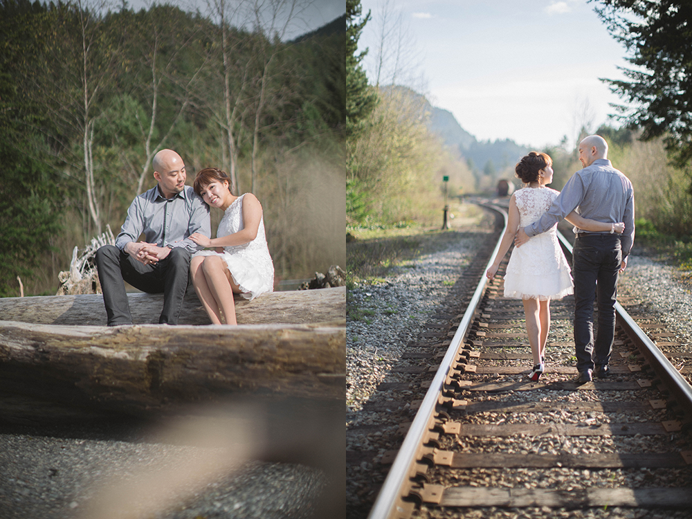 porteau cove engagement shoot